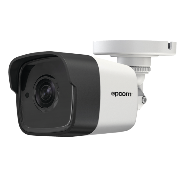 TURBOHD Bullet camera 5 MP / EXIR 20M / 12 VCD / 2.8 mm lens / IP67 / White color / full metal housing / 4 technologies