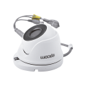 TurboHD 720p eyeball camera / HDTVI / Analog 1200 TVL / lens 2.8 mm / 20 mts Smart IR / White Color / IP66 / Indoor - Outdoor / Full Metal Housing