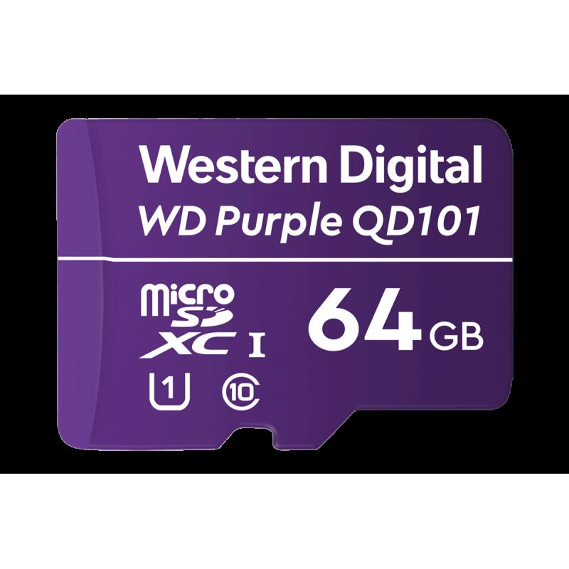 64GB Surveillance-grade microSD card