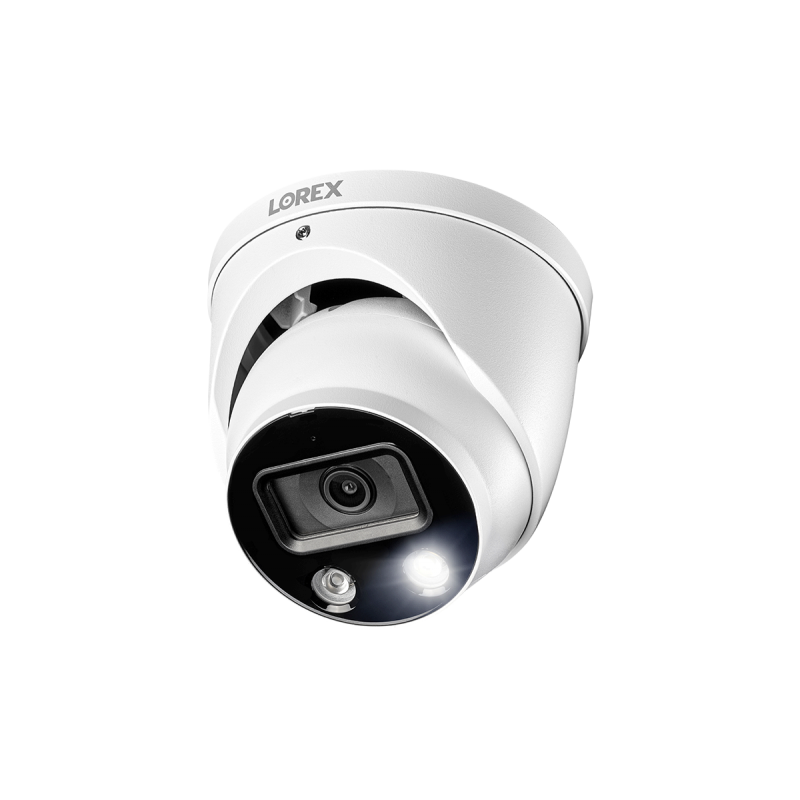 4K Ultra HD Smart Deterrence IP Dome Security Camera with Smart Motion Detection Plus