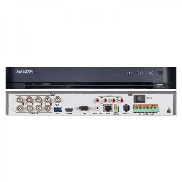 8 canales DS-7208HUHI-K1 Turbo HD DVR de 5MP Hikvision