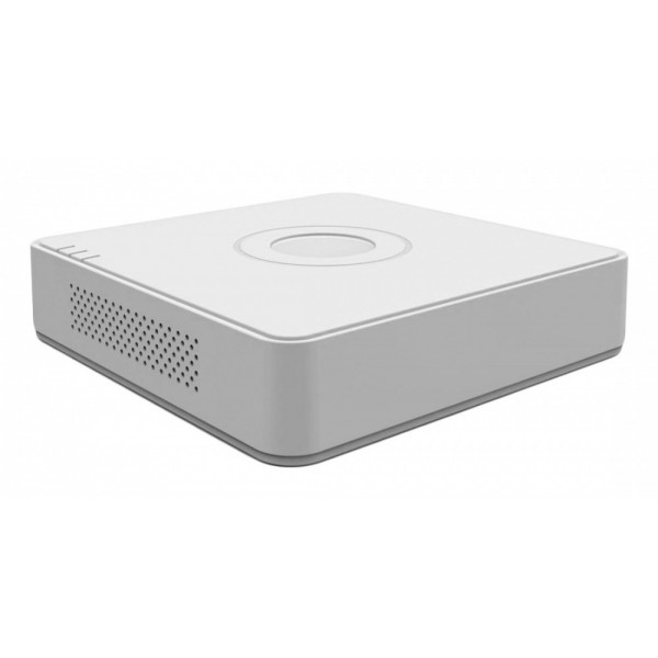 Nvr Hikvision P Series Ds-7104ni-e1/4p 4 Canales